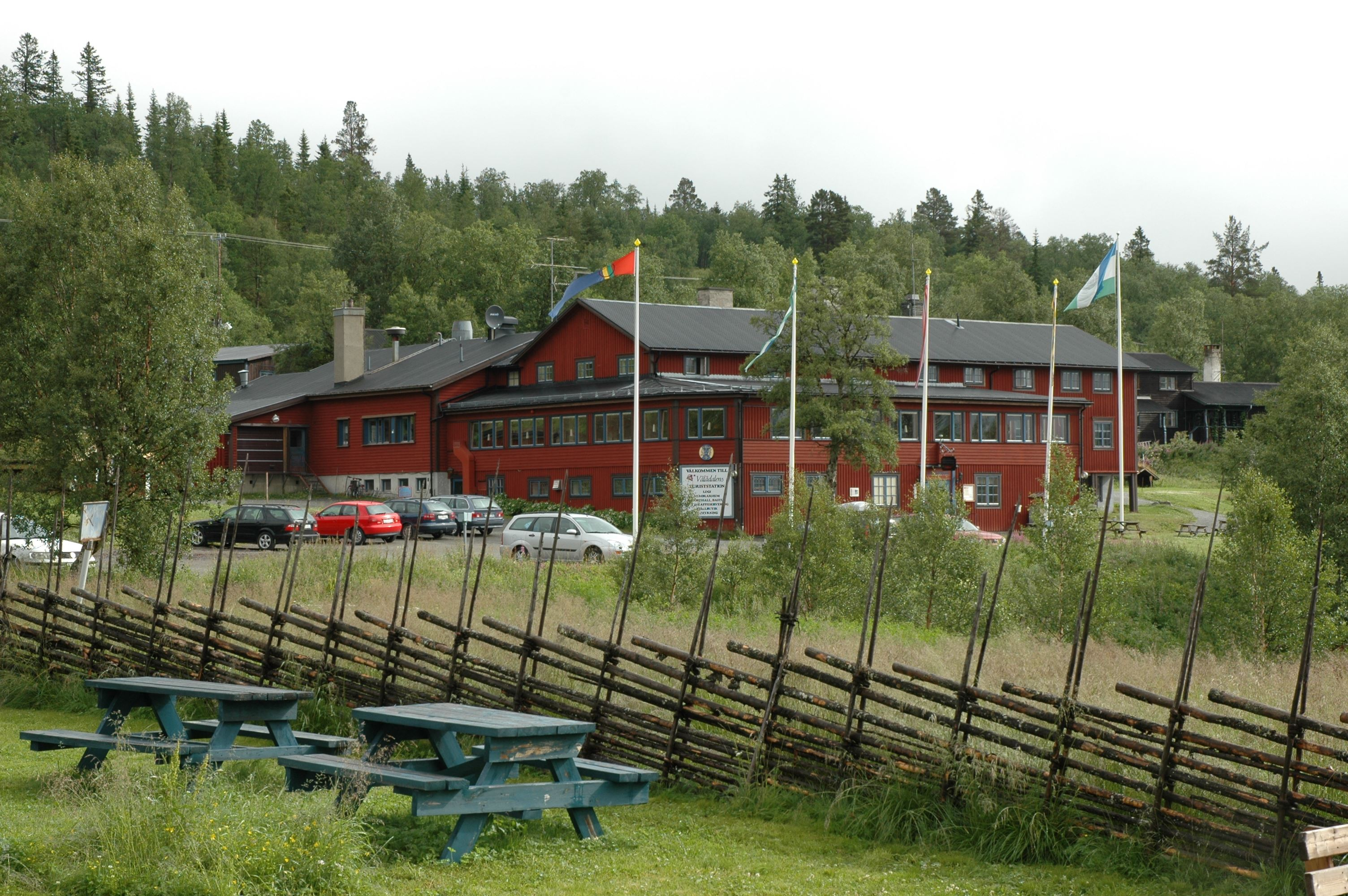 Vålådalen, STF Mountain station