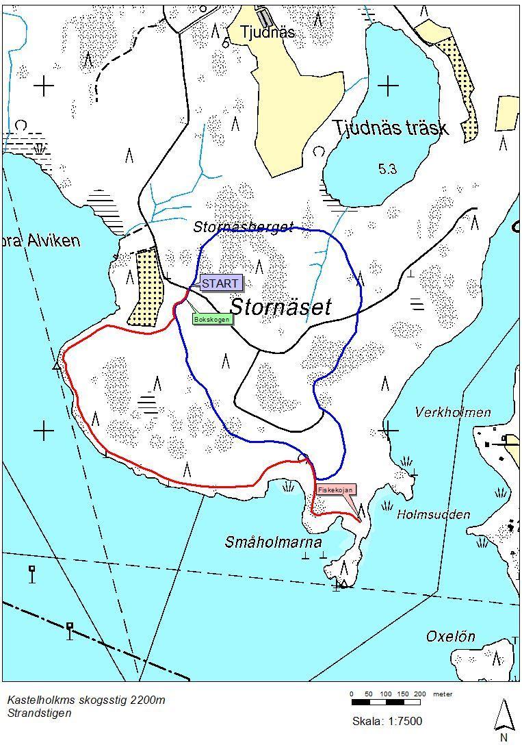 Kastelholms skogsstig