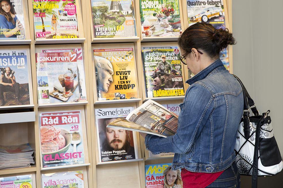 Ingrid Sjöberg,  © Malå kommun, Malå bibliotek