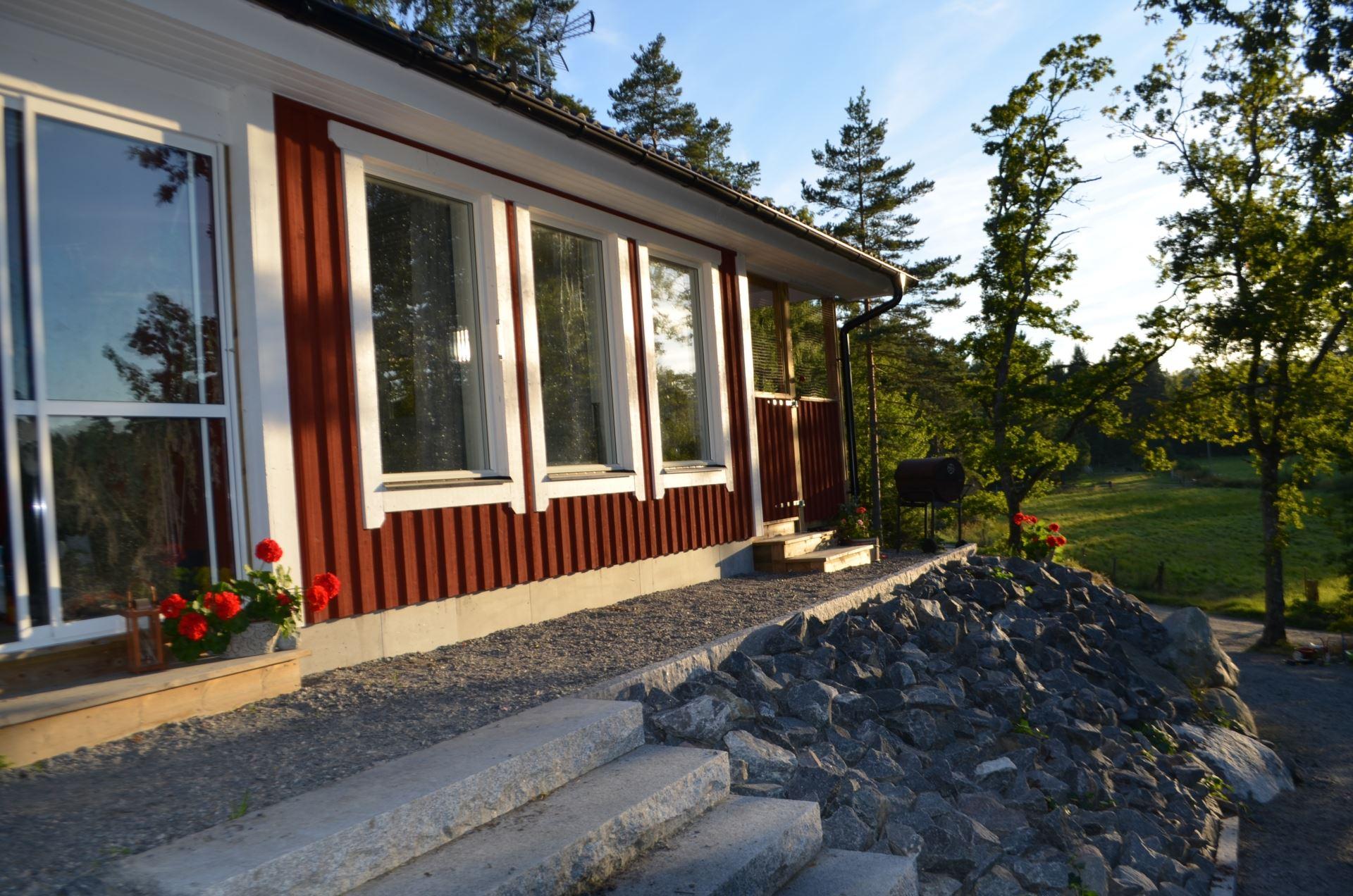 Villa Vendelbacken, Tomta Roslagsbro