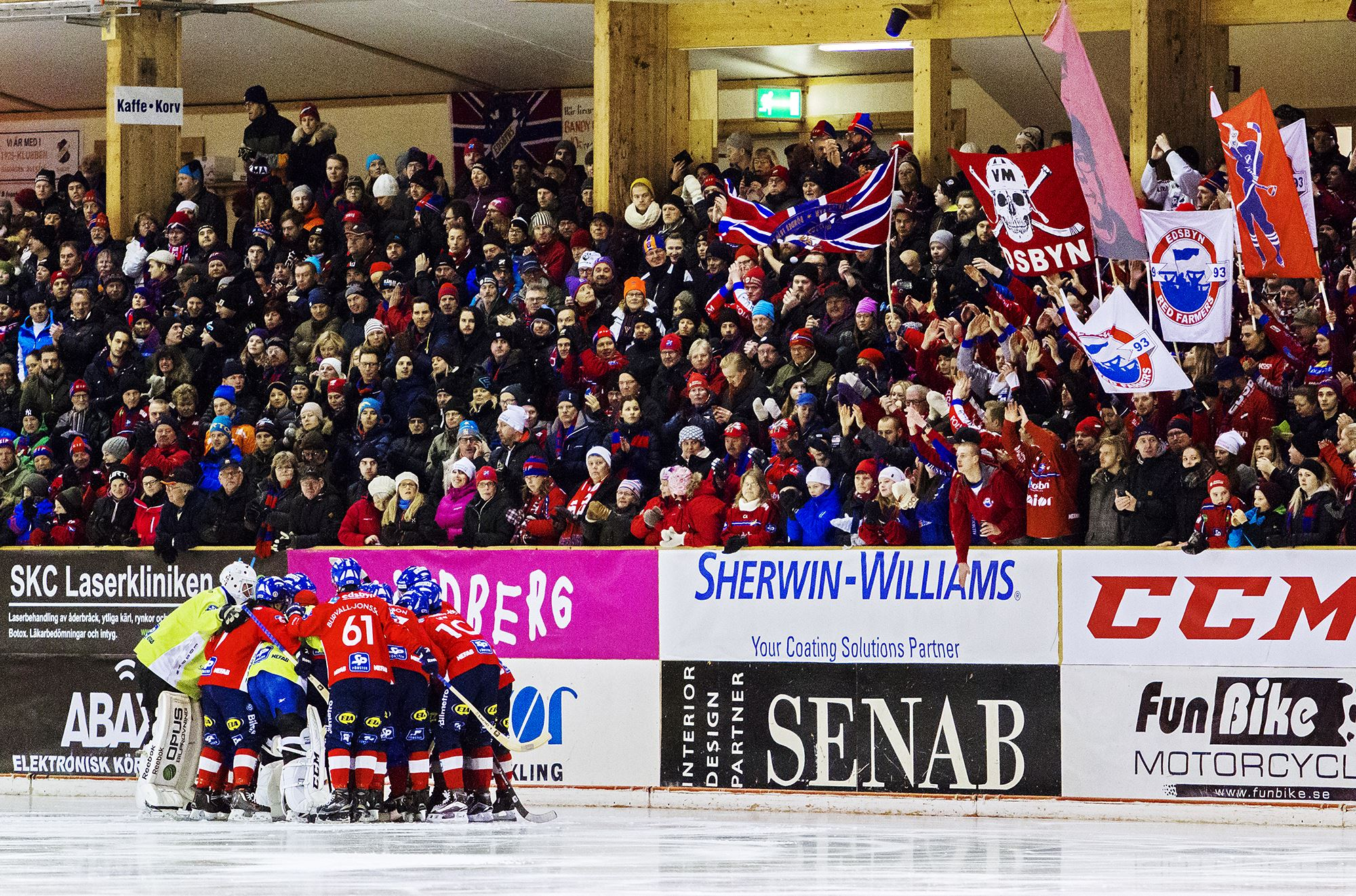 Edsbyns IF Bandy - Sandvikens AIK