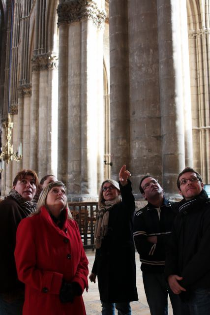 Reims romantic tour