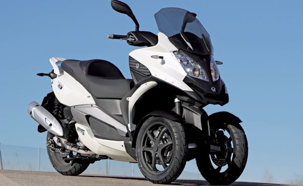 Klass C - Quadro 350 (3-wheeler, allowed to drive with car driving license)