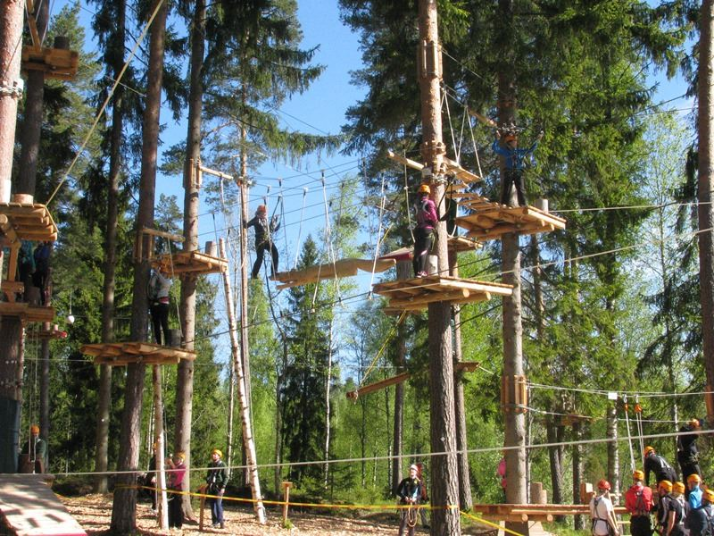Entrance ticket to Pajulahti Adventure Park