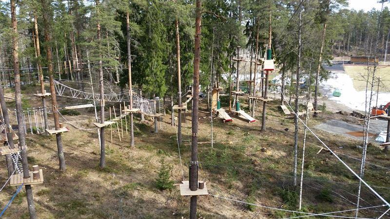 Pääsylippu Pajulahden seikkailupuistoon