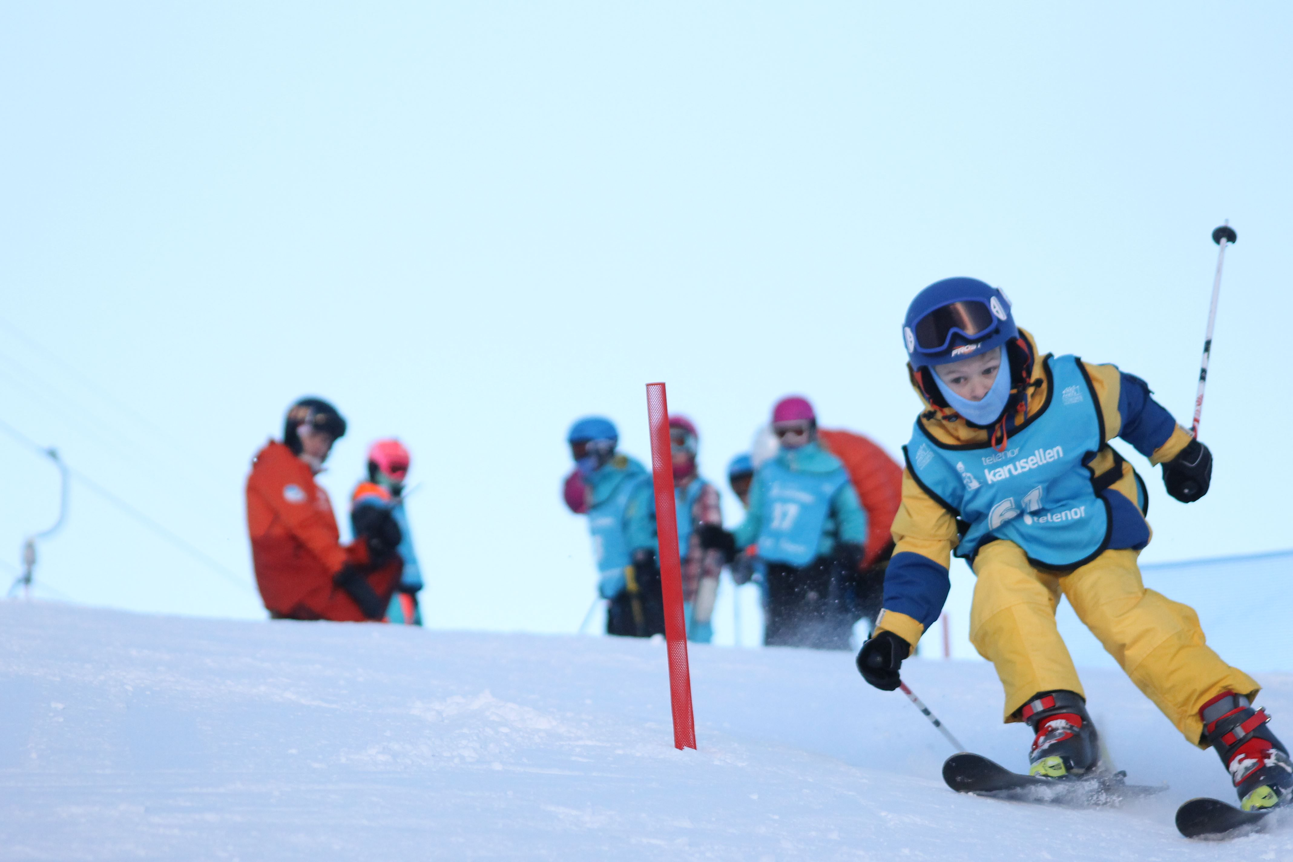Children ́s ski school - ski