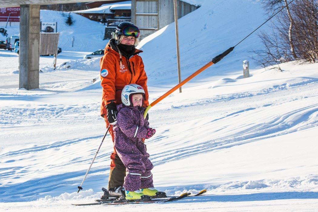 Children ́s ski school - ski