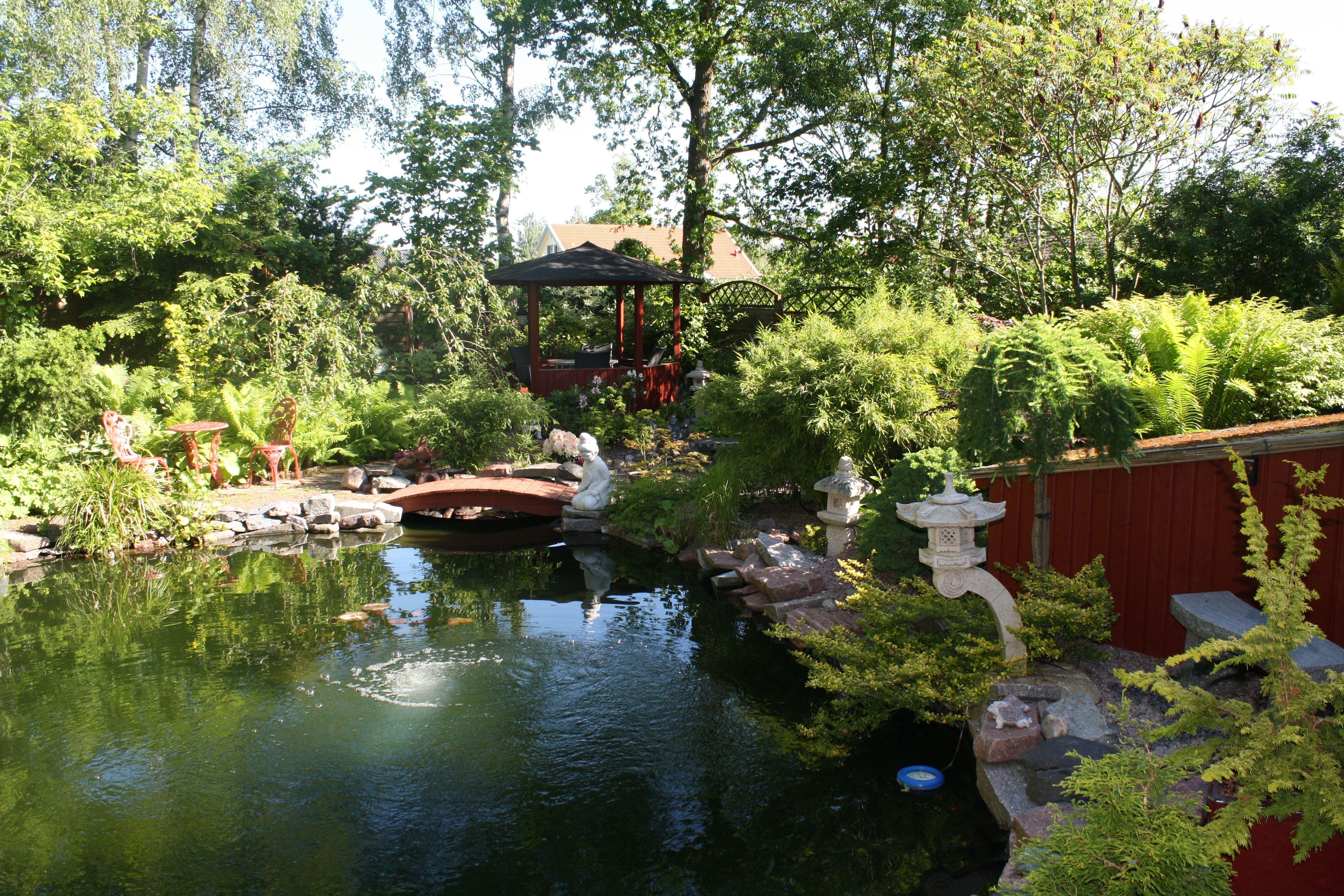 Rutger och Pia Bengtssons trädgård