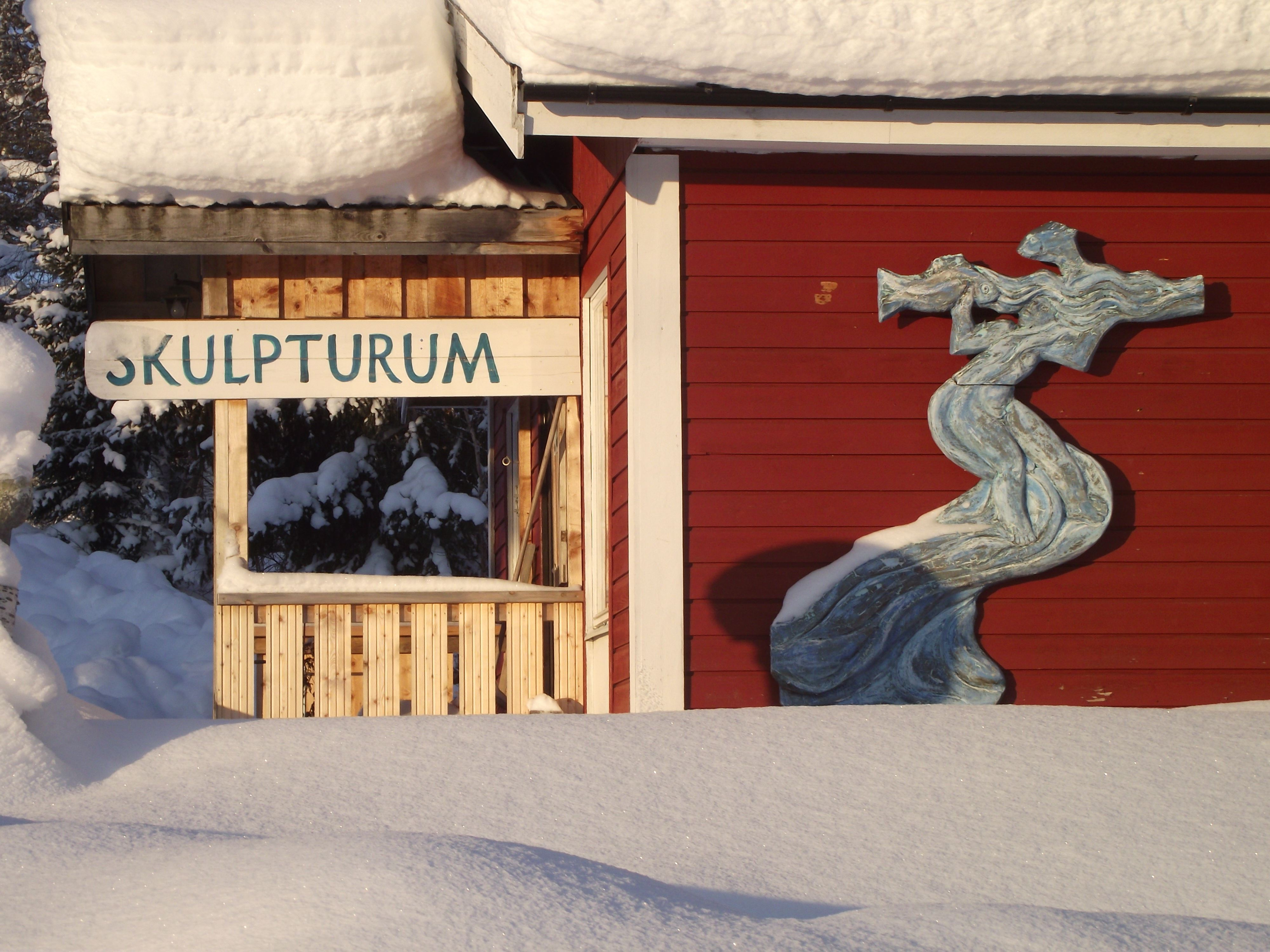 Foto: Urban Berglund, Skulpturum Art Studio