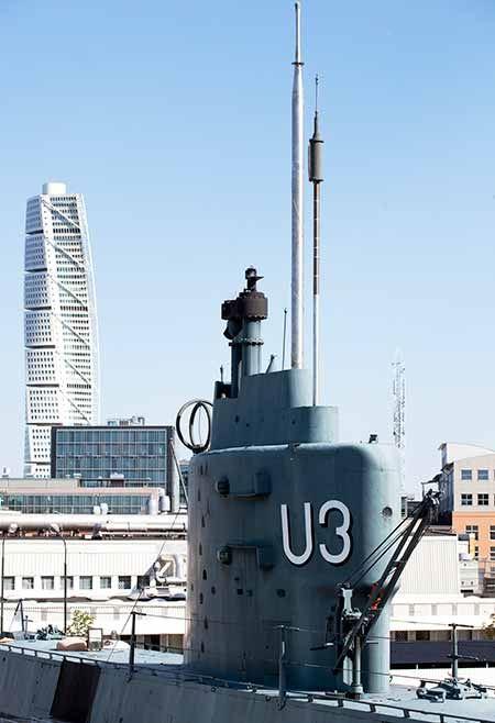 Allmänna visningar av ubåten U3