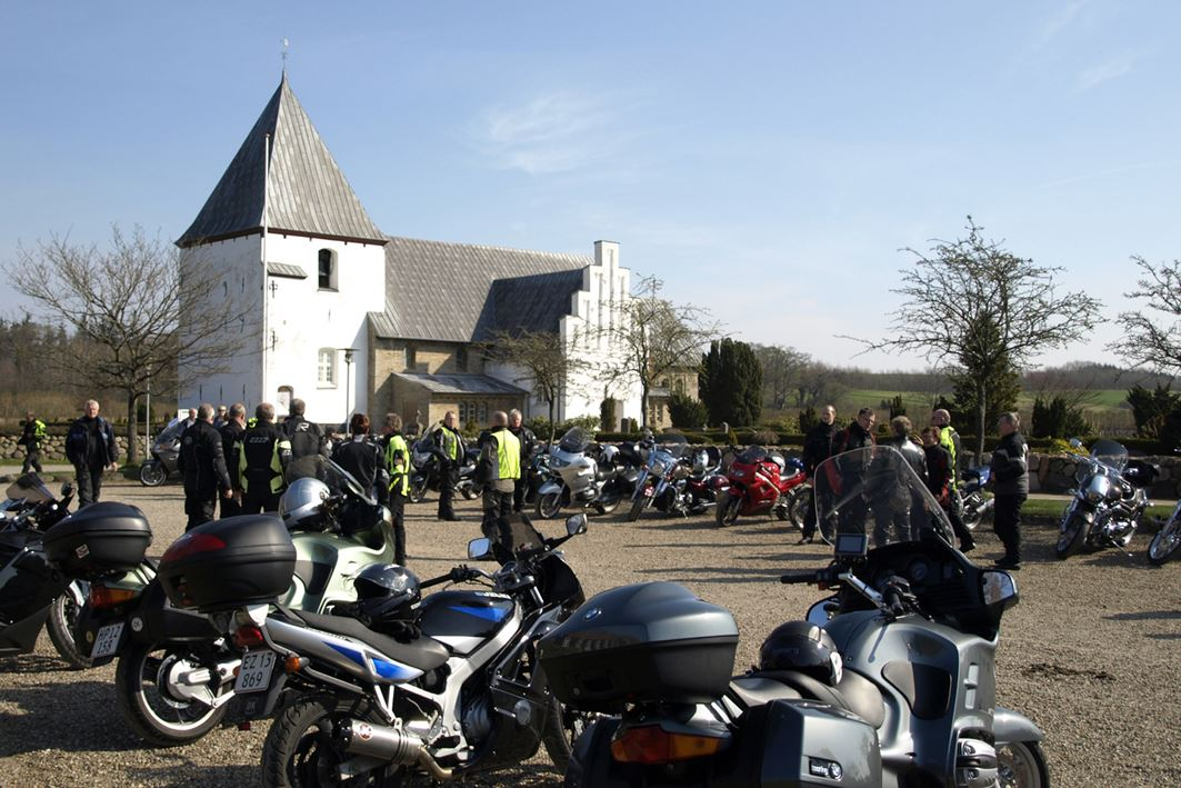 Historical tour by motorcycle