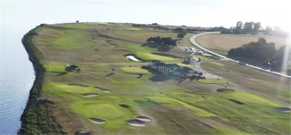 Trelleborgs Golf Club,  parking for RV / caravan