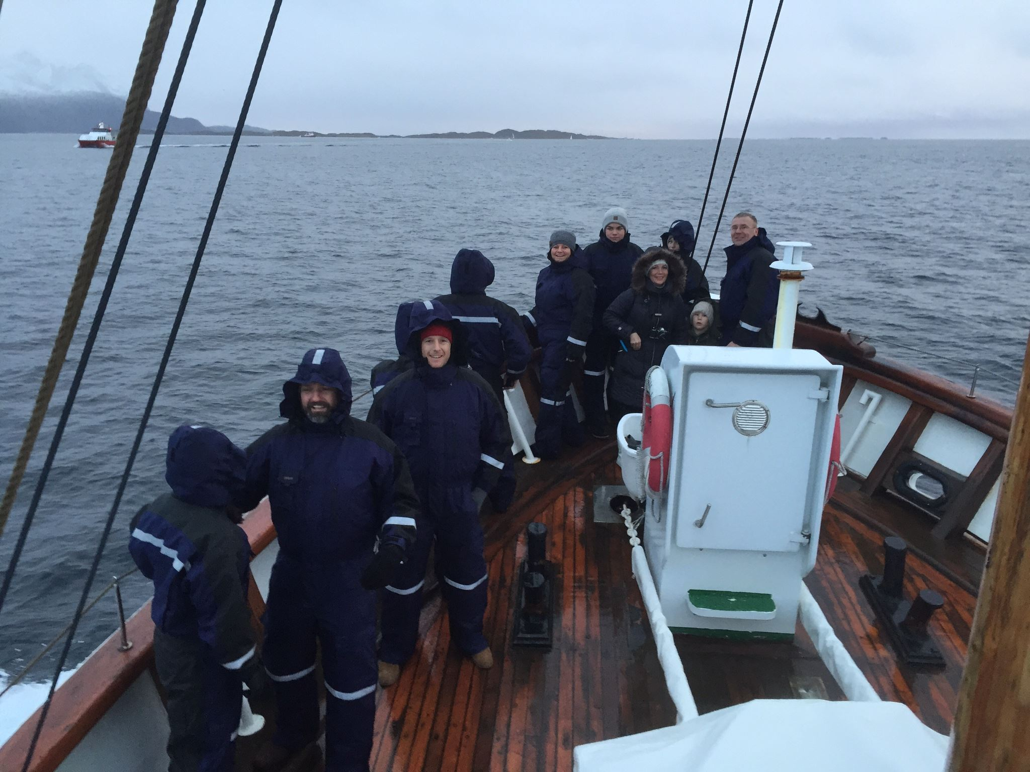 Local fishing tour with the rescue boat Olav Ringdal Jr - Northern Sea Adventure