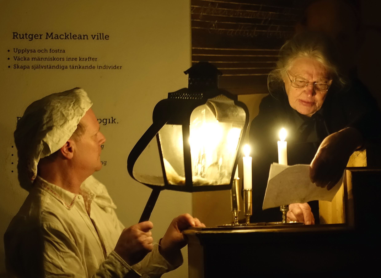 Guidade turer - Svaneholm by night