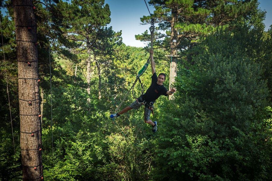 Parc accrobranche Oihana à Urrugne : vivez des sensations fortes au Pays Basque !