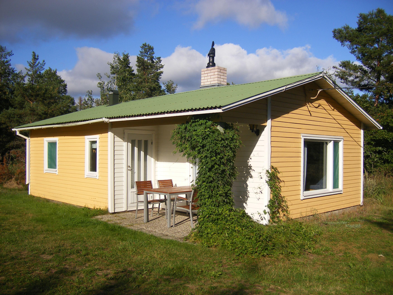 Harnäs Stugor: Gula Stugan - Keltainen mökki