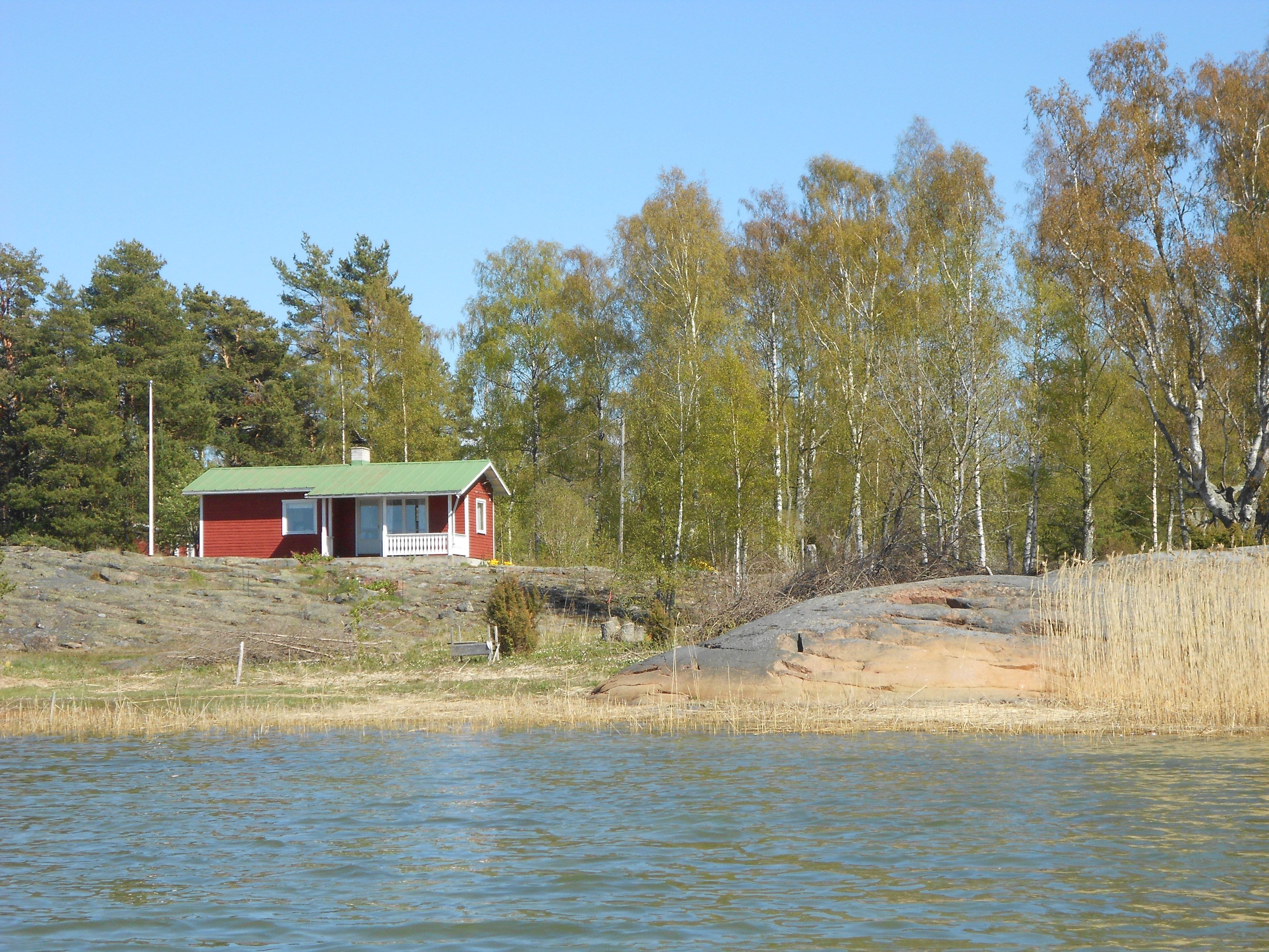 Harnäs Stugor: Röda Stugan - Punainen mökki