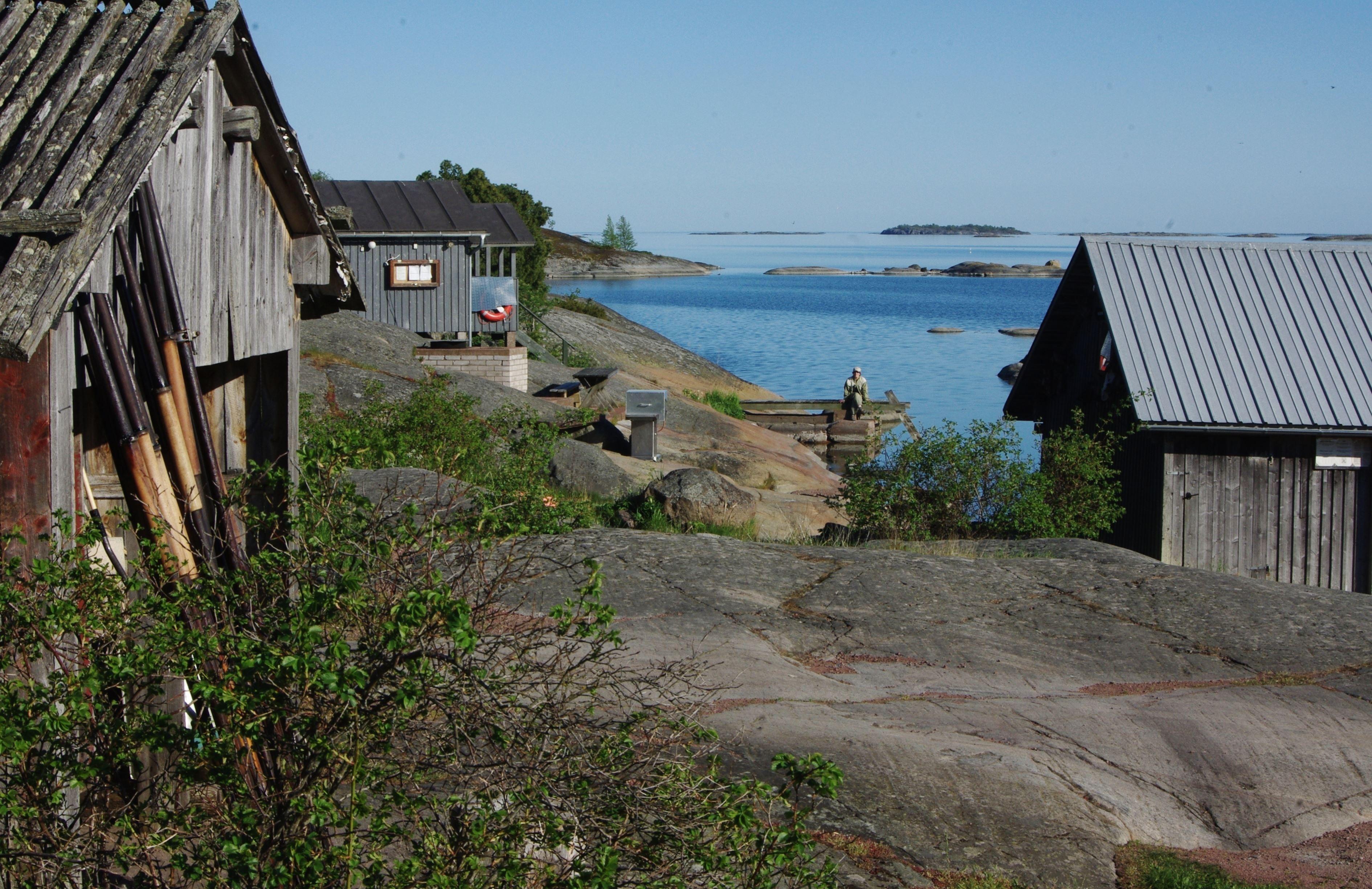 Isakssons Stugby, vid havet