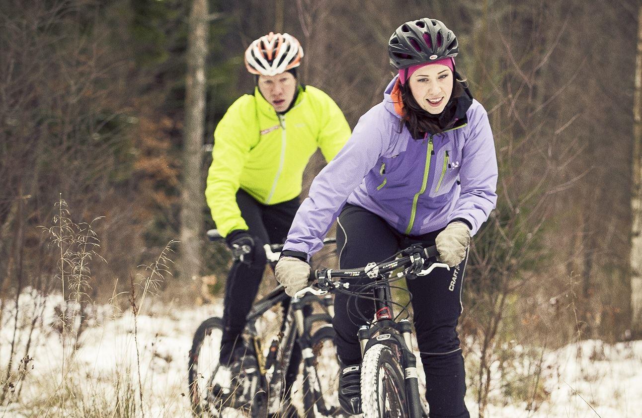 Jonas Ljungdahl, Mountain Biken durch die Naturschutzgebiete