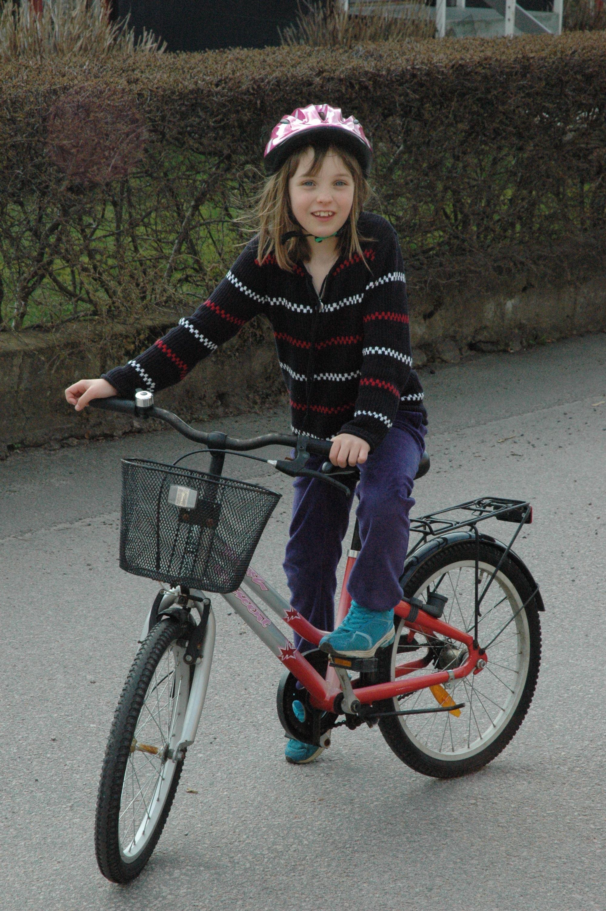Cykeltur runt södra Bergundasjön, 11 km
