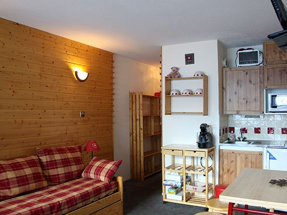 4 Pers Studio Cabin, 150m from the slopes / ASTERS 1120