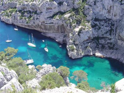 Aix en Provence and Cassis, 3 calanques