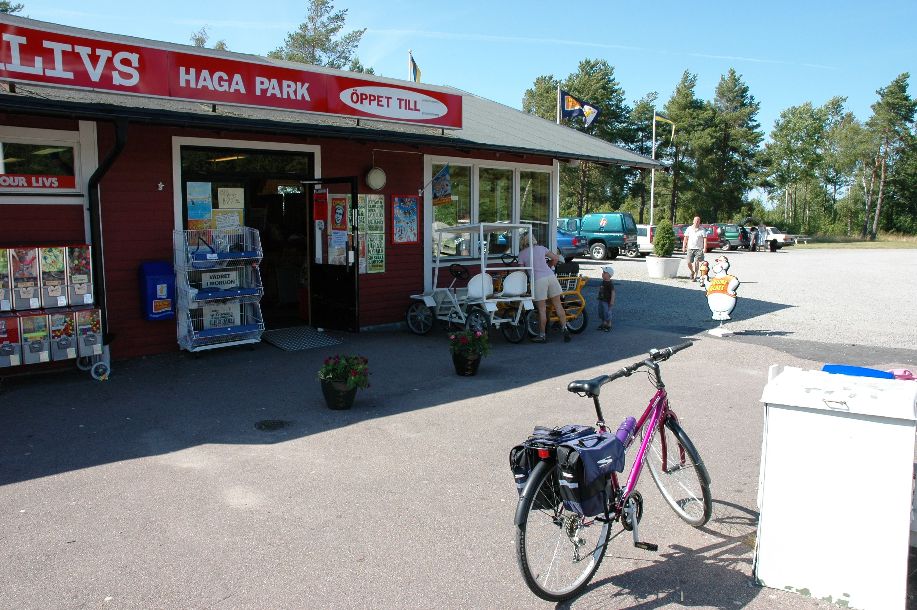 Haga Park Camping & Stugor/Cottages