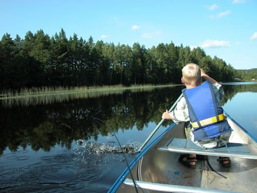 © Ädelfors Stugor, Canoe rental - Ädelfors Stuga