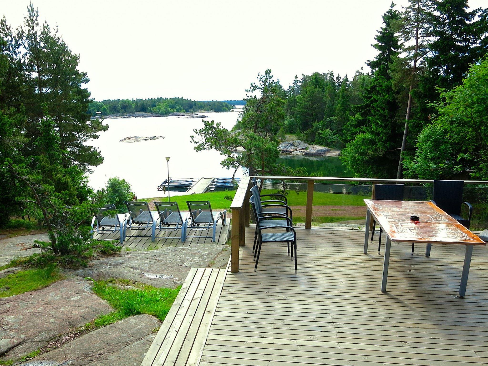 Holmströms stugor, east side