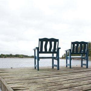 Holmströms stugor, öster