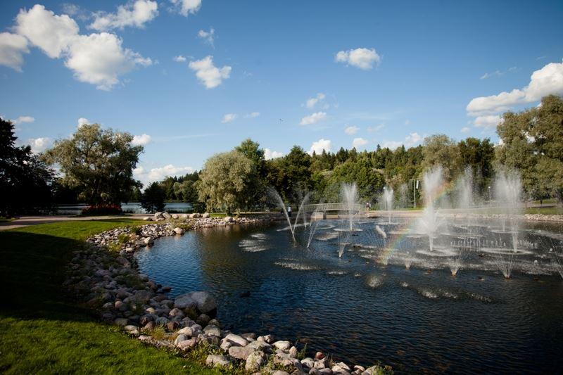 Pikku-Vesijärven puisto