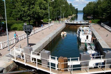 Old Vääksy Village | Vääksy Canal