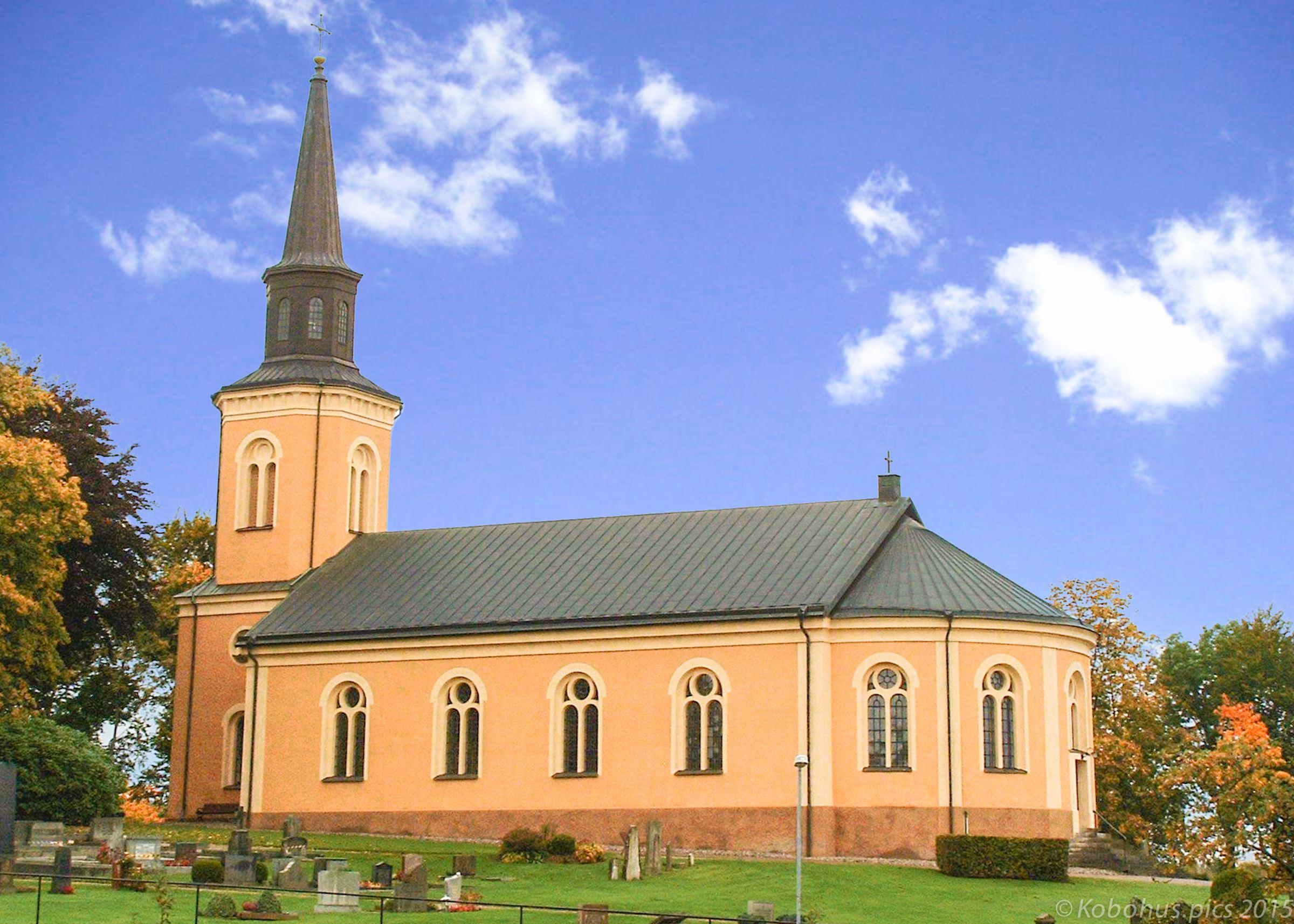 Norra Åkarps kyrka i Bjärnum
