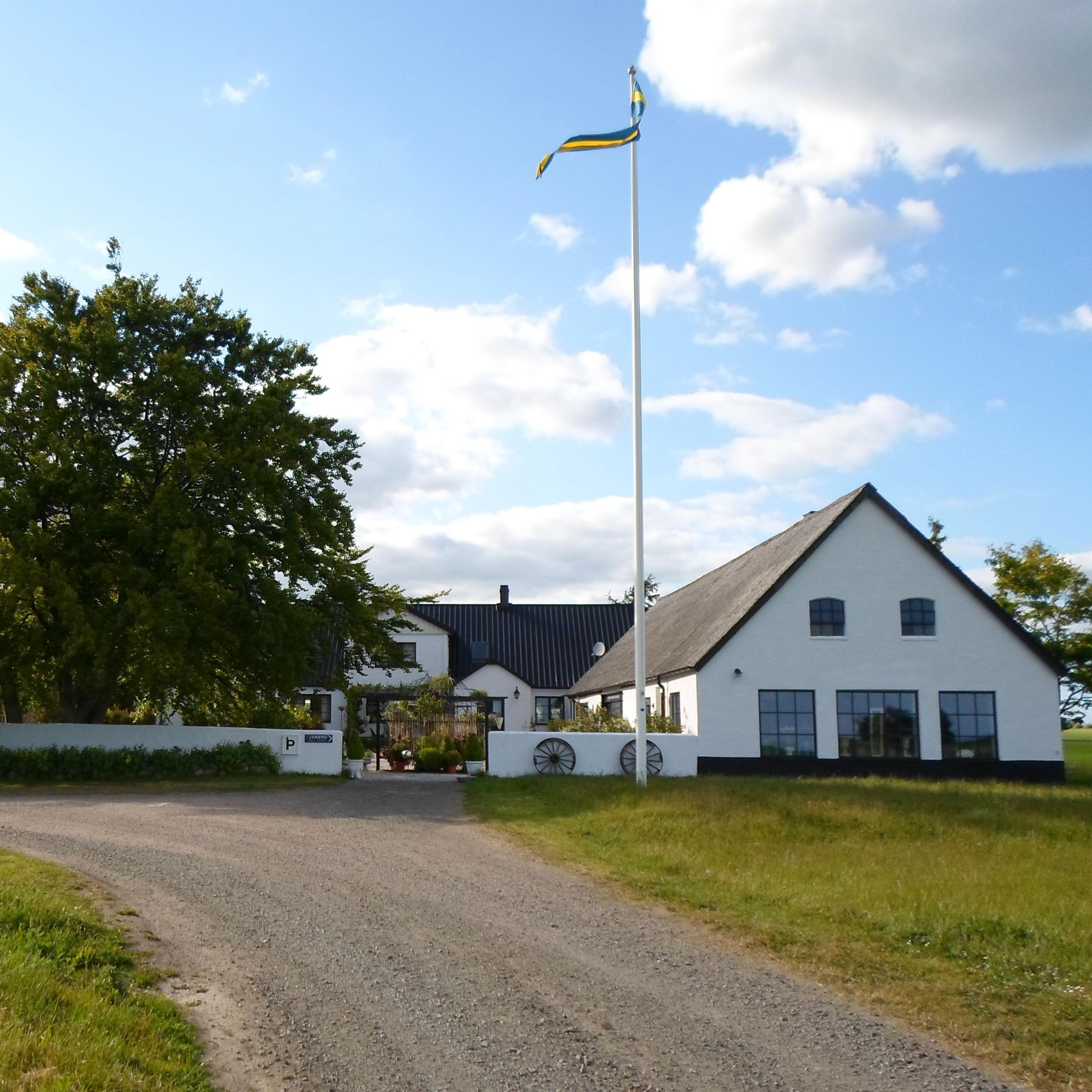 Arnhögs Gård i Örnahusen på Österlen