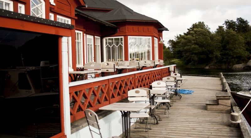 Hotell Brudhäll, ravintola