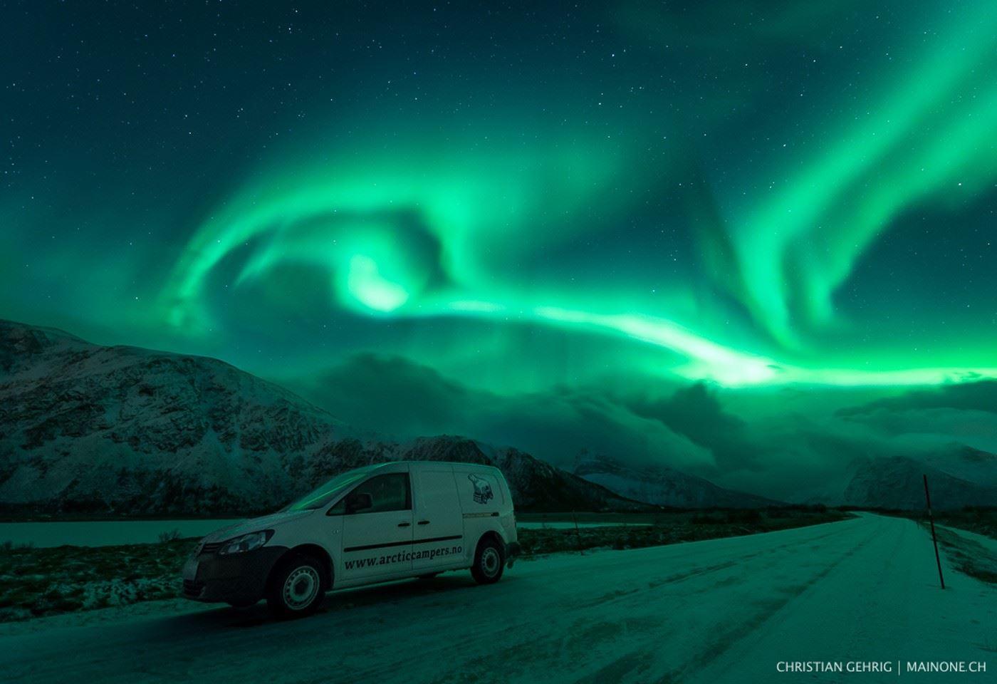 © Arctic Campers, Arctic Campers - Camper Van Rental