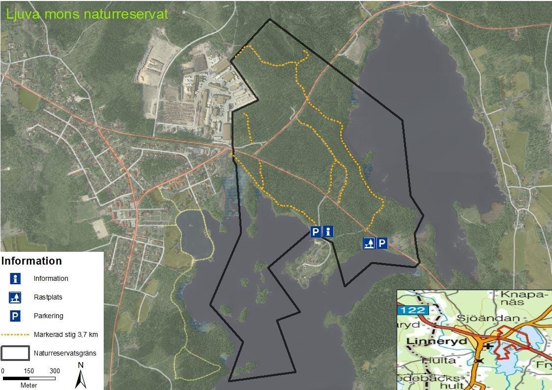 Naturreservat Ljuva Mon