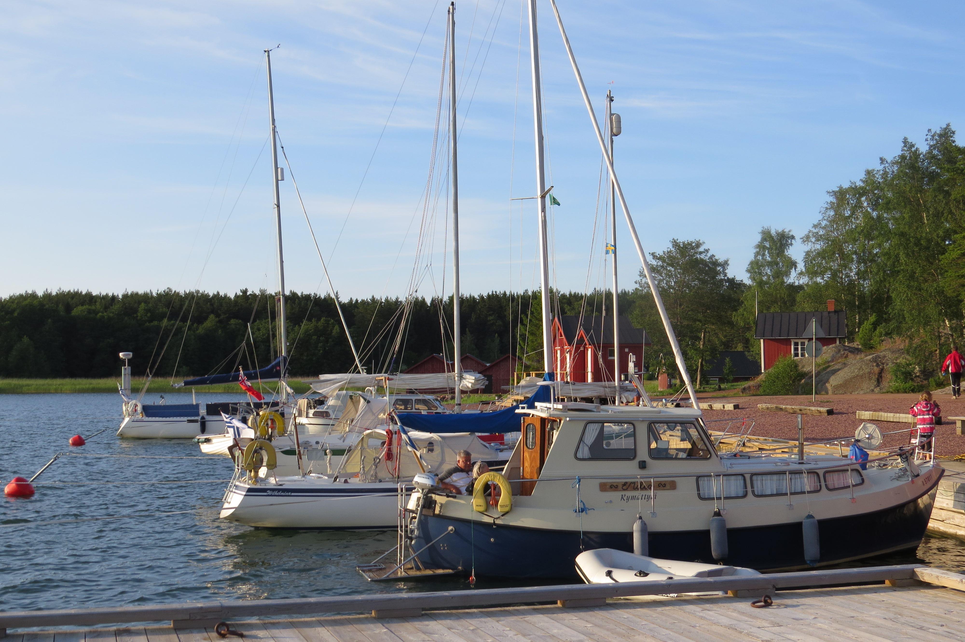 Vargata besöksbrygga / Wikens Wänner r.f.