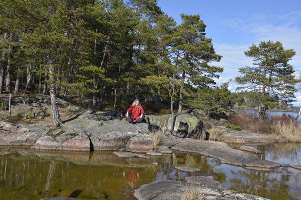 Vandra i underbara naturreservatet Utnäset