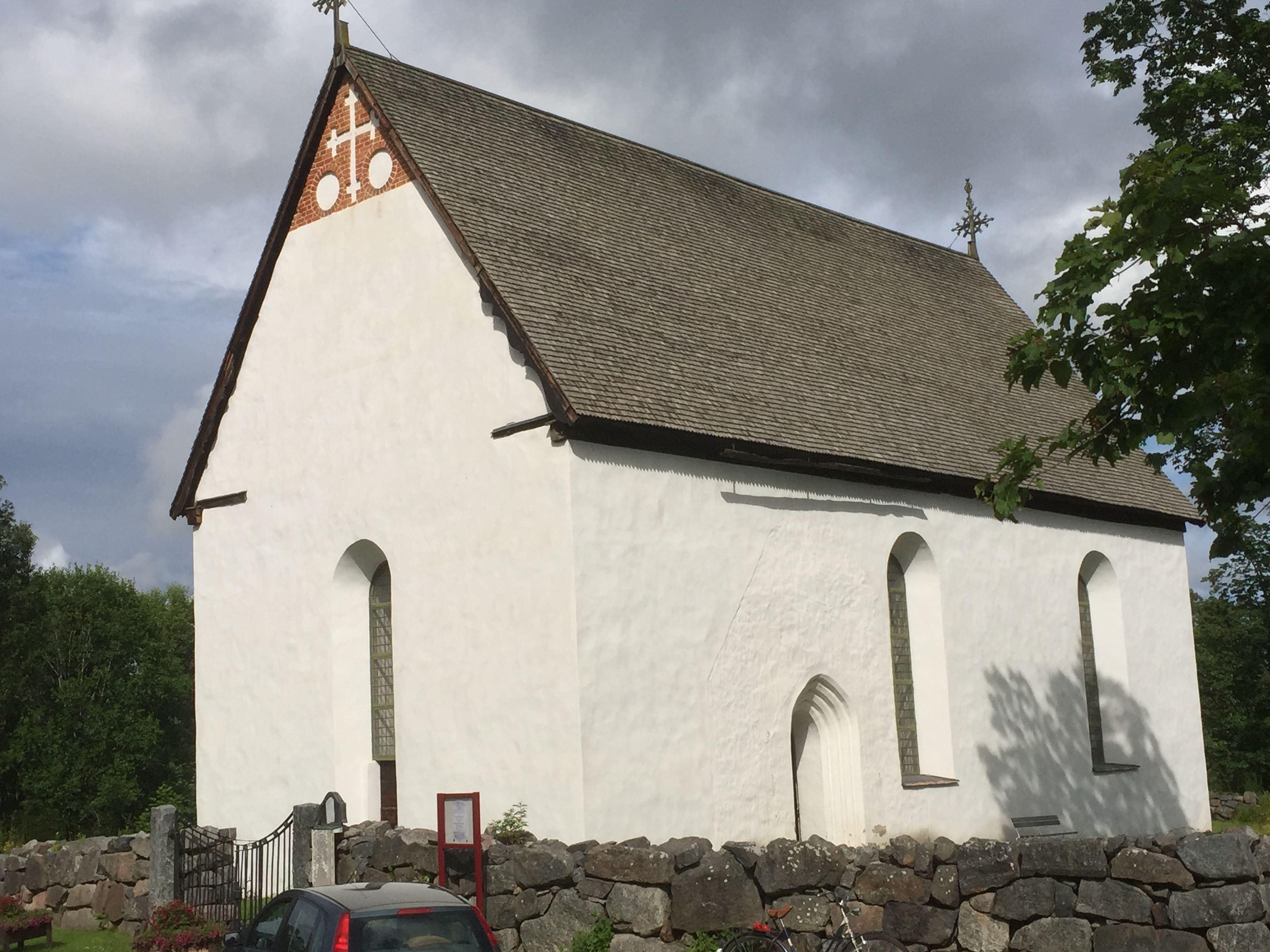 Kyrkovisning av Enångers medeltidskyrka