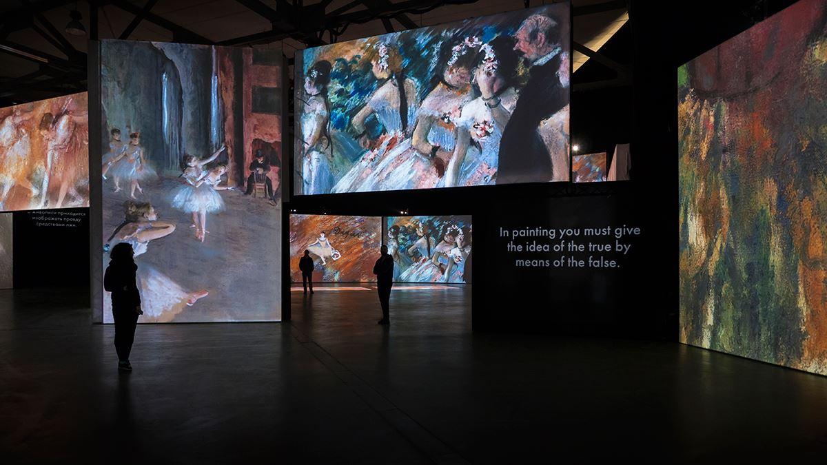 Entrébiljett Monet till Cézanne