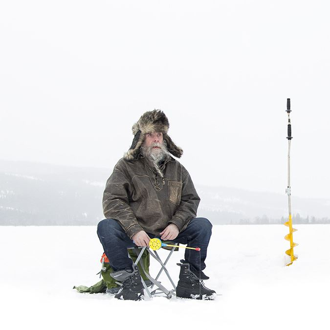 Ice fishing on Åre lake - win 10 000 SEK