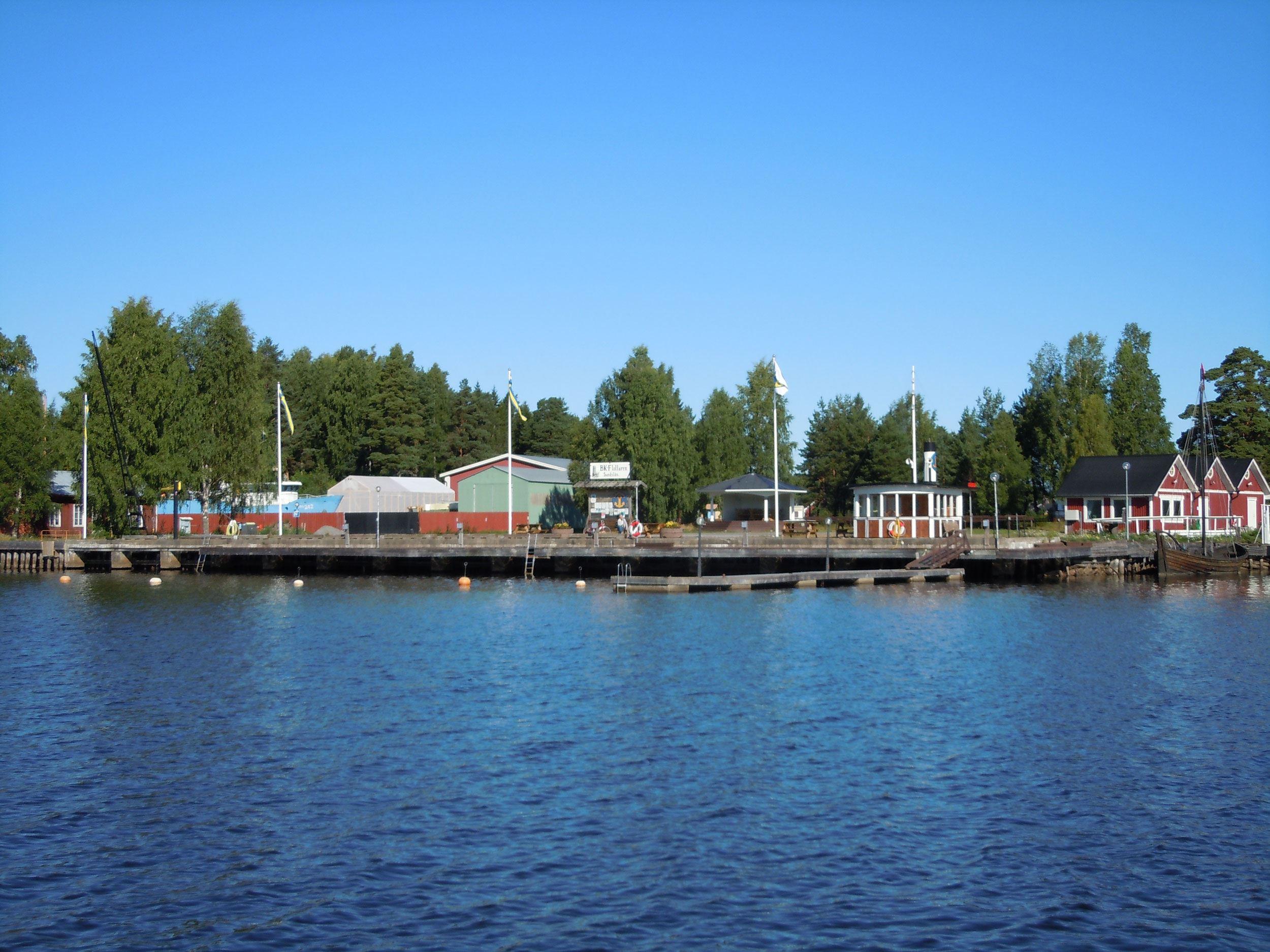 © BK Flottaren, Sandslåns gästhamn