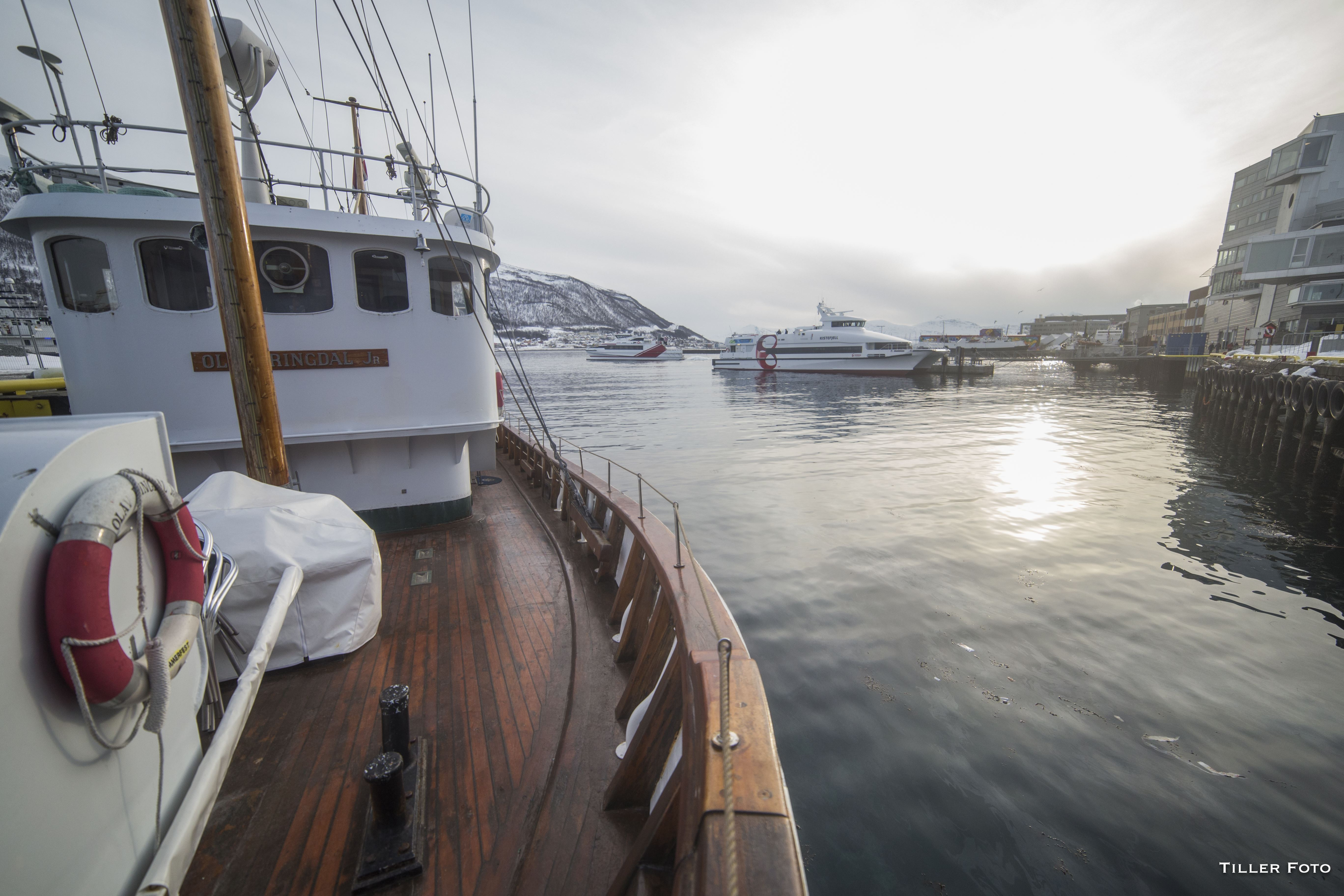 Fjord Cruise with the world's smallest cruise boat – Northern Sea Adventure