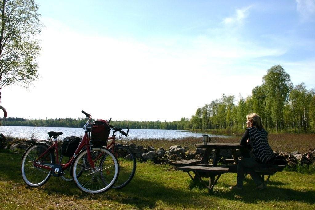 Vidöstern Runt och Ulåsrundan på cykel