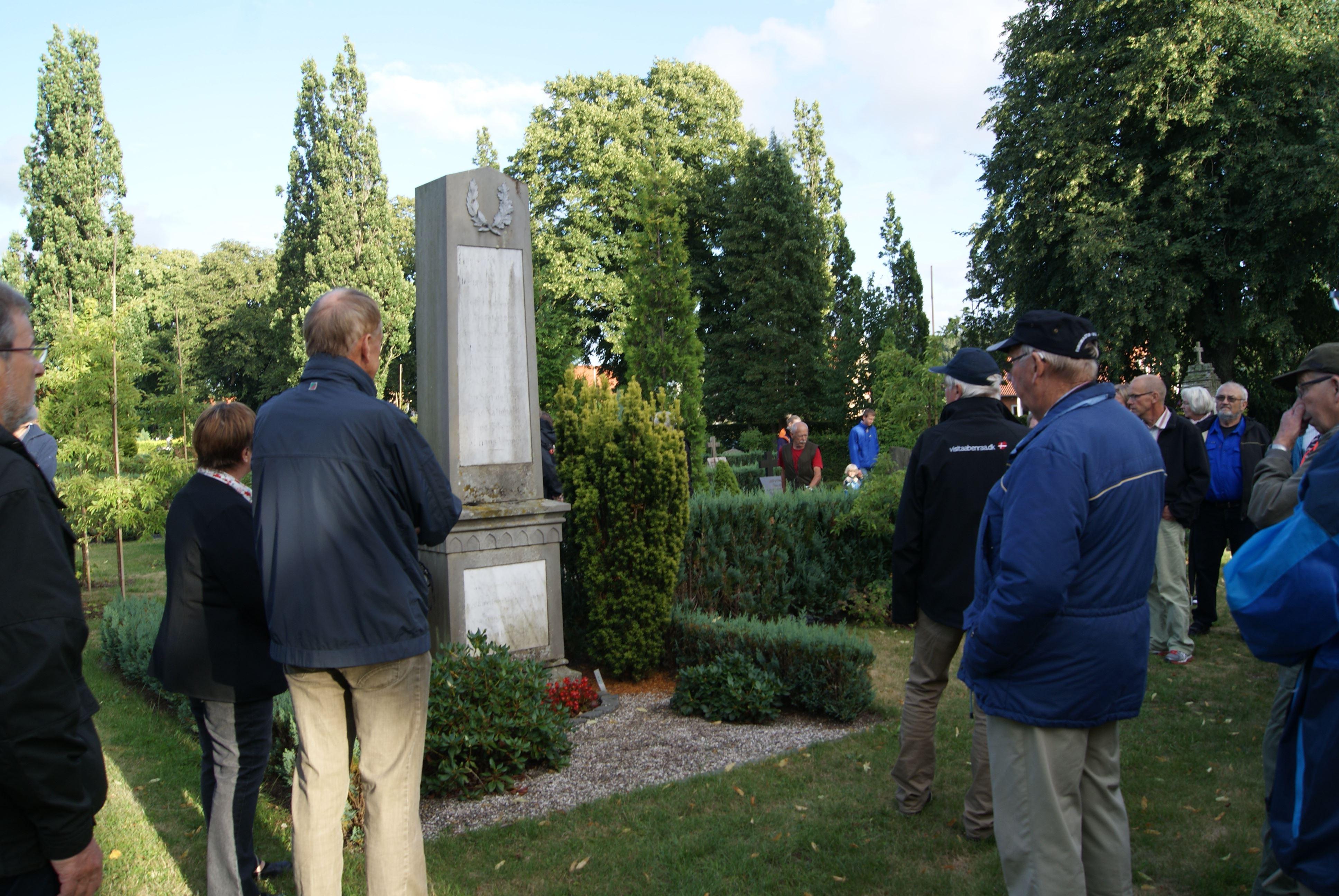 Graveyard tour in Aabenraa
