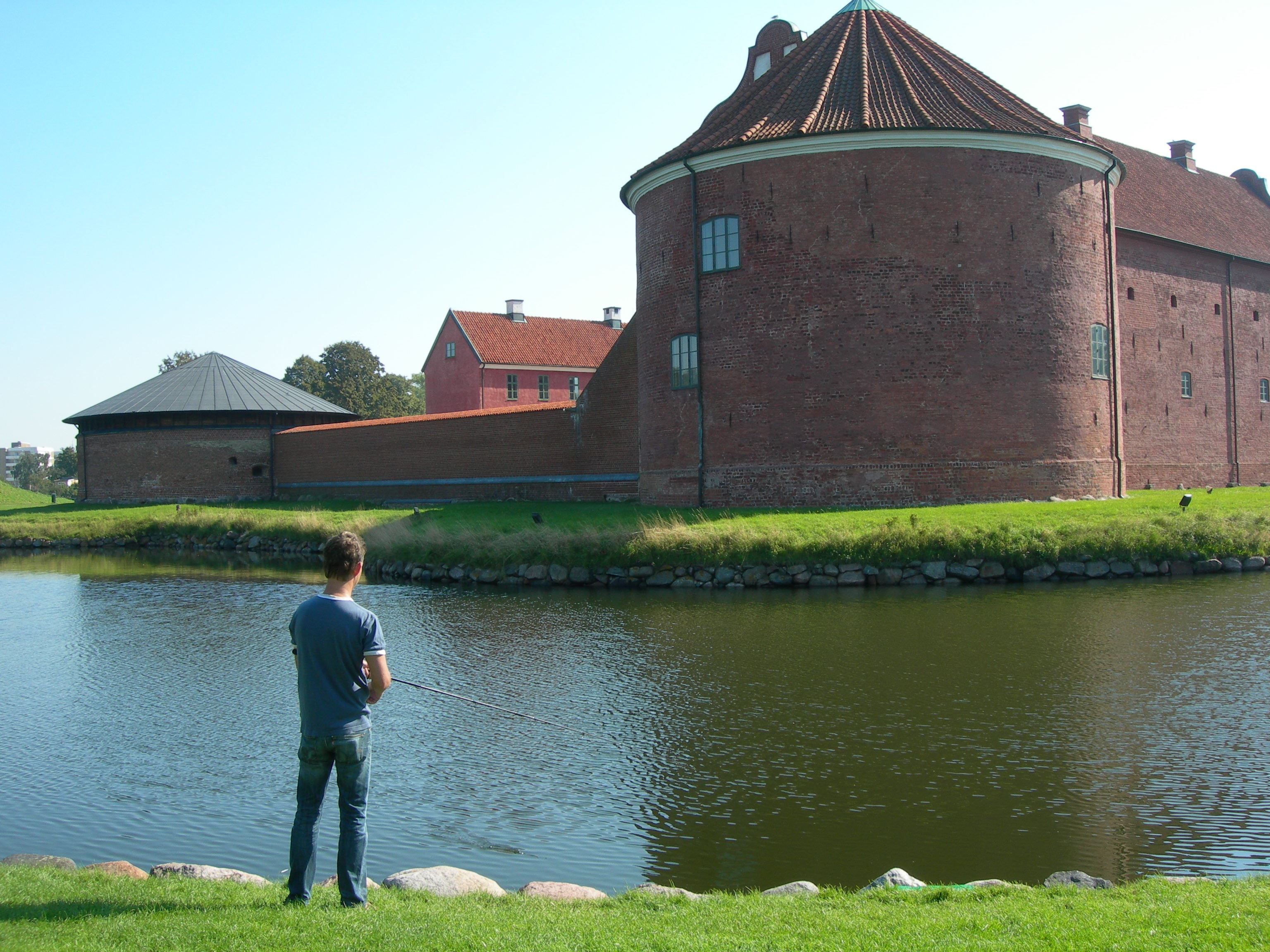 Landskrona stad, Fishing by the Citadell