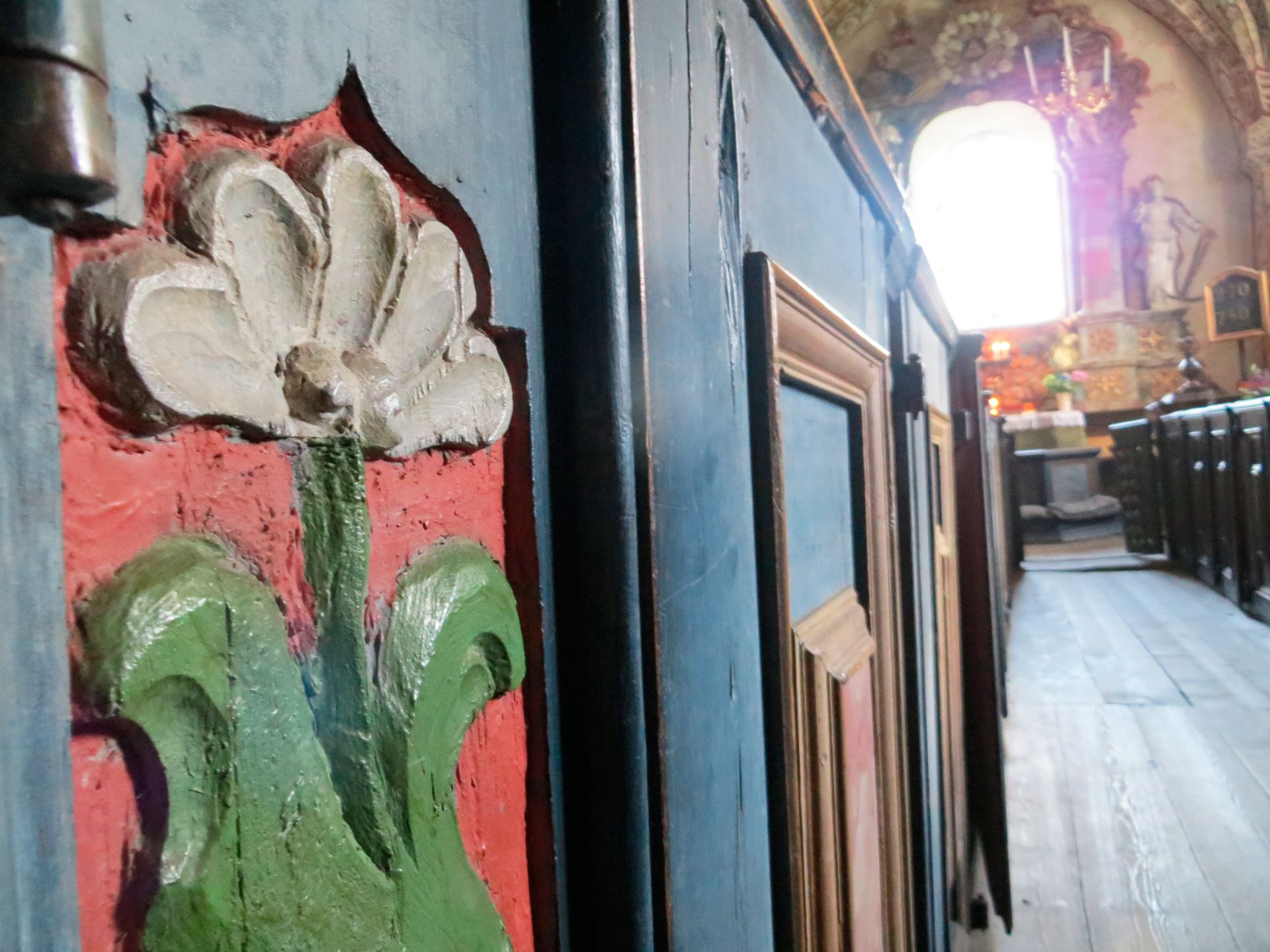 © Ådalsbygdens pastorat, Ytterlännäs gamla kyrka