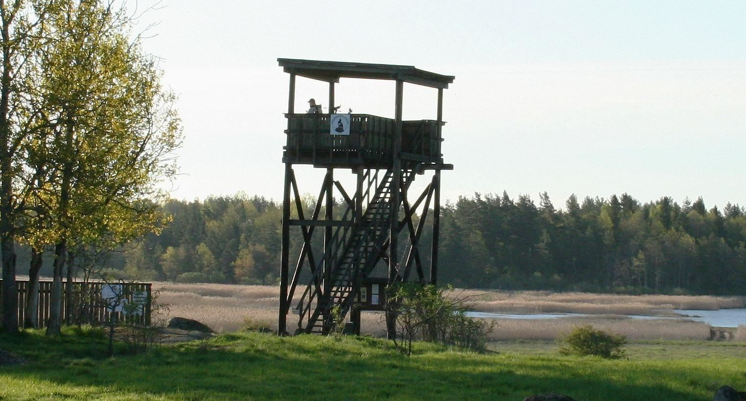 Jan Brenander, Målsjöns Bird Observation Towers