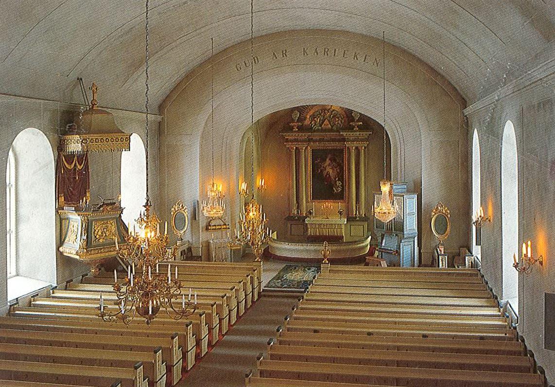 © Ådalsbygdens pastorat, Bjärtrå church.